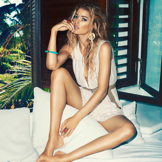 Doutzen Kroes Sizzles in the New H&M High Summer Campaign