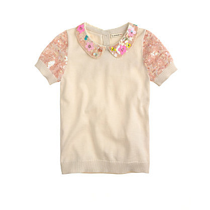 This sequined, short-sleeved popover ($78) is a must-have mini-me look for every stylish mama's little girl!