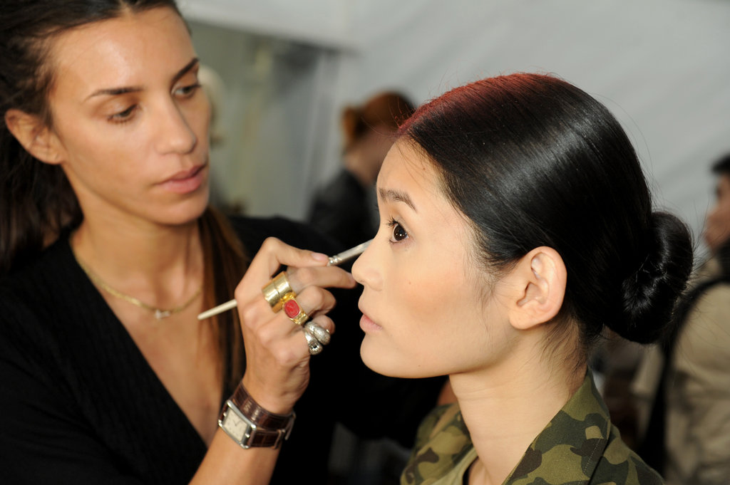 "When warm weather hits, every woman wants to master the ""no-makeup"" makeup look. That's probably why this roundup of natural makeup tips from the pros was a hit."