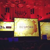 The impressive set-up at the Bespoke summit wowed us from the get-go.