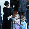 Nicole Richie Gets Coffee in Sydney With Kids