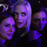 Jaime King hung out with Aussie actress Phoebe Tonkin (right) and a friend. Source: Instagram user jaime_king