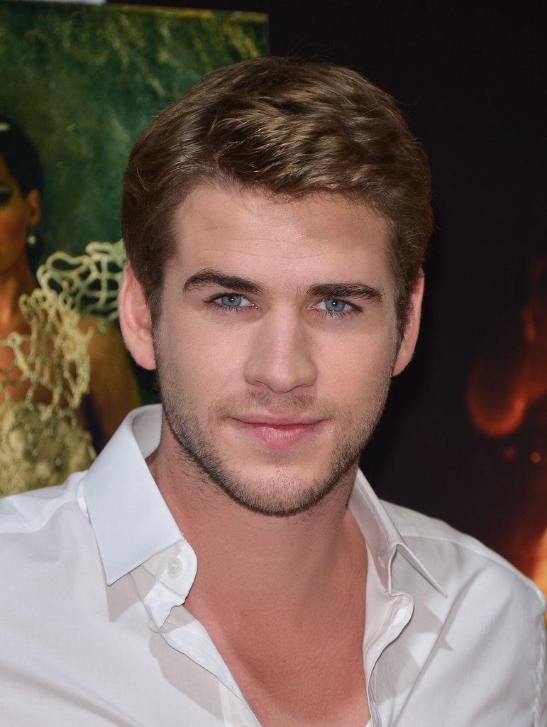Liam Hemsworth attended a Catching Fire photocall.
