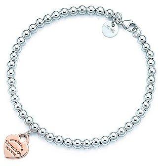 Return to TiffanyTM Bead Bracelet