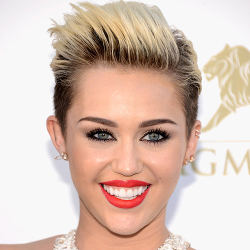 Miley Cyrus Hair and Makeup at Billboard Awards 2013
