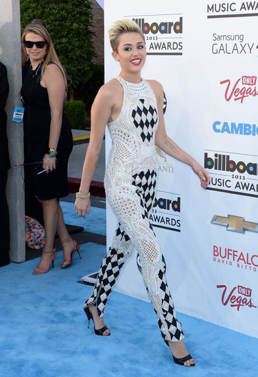 "Miley Cyrus Confirms New Single ""We Can't Stop"" on Billboard Red Carpet"
