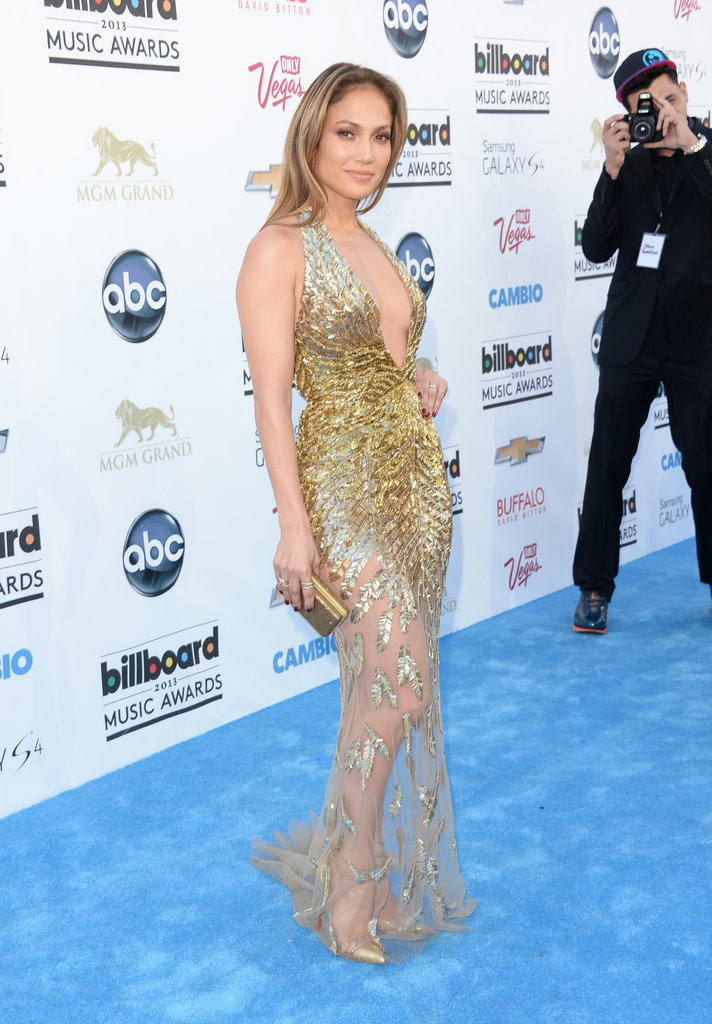Jennifer Lopez at the 2013 Billboard Music Awards.