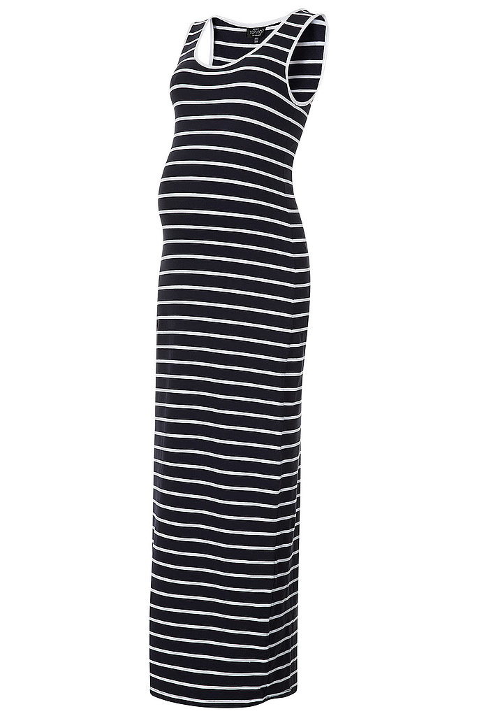 Topshop Stripe Maxi Dress