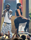 Lil Wayne and Nicki Minaj performed together at the Billboard Music Awards.