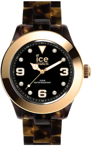 ICE Watch 'Elegant' Gold Bezel Watch, 43mm