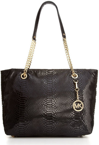 MICHAEL Michael Kors Handbag, Jet Set Large Chain East West Tote