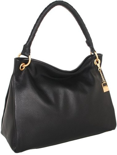 DKNY - Crosby Large Hobo (Black) - Bags and Luggage