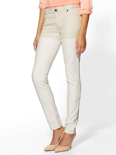 BCBGeneration Full Leather Leg Pant