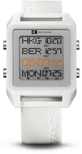 '1512819' | White Silicon Strap Watch by BOSS Orange