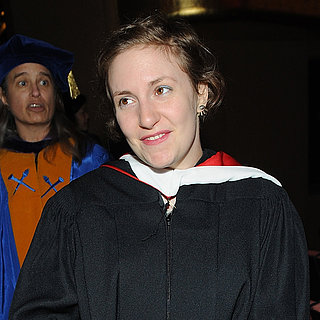 Lena Dunham at Barnard College | Photos
