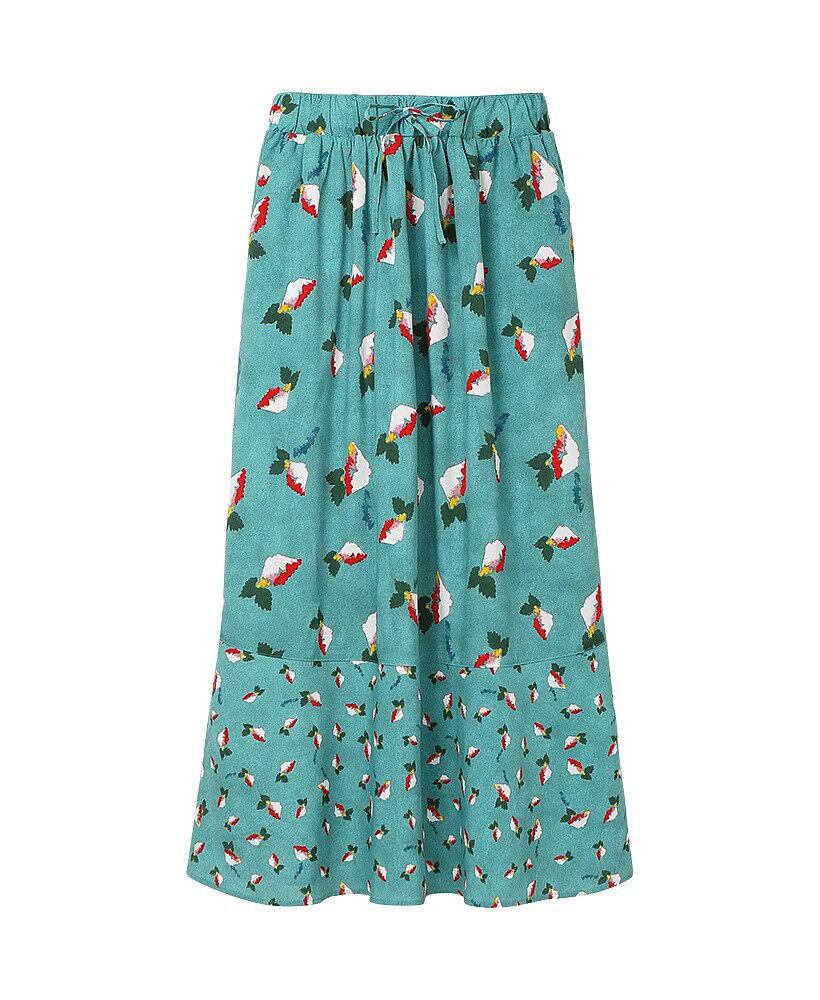 Long Flare Skirt ($30) Photo courtesy of Uniqlo