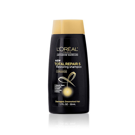While traveling, you need a shampoo that'll whip your hair in shape. L'Oréal Travel-Size Total Repair 5 Shampoo ($1) strengthens and adds shine, leaving you with enviable strands.