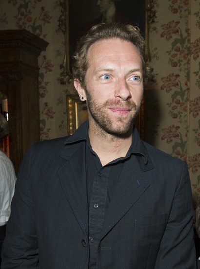 Chris Martin celebrated with wife Gwyneth Paltrow.
