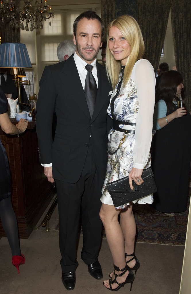 Gwyneth Paltrow partied with Tom Ford.