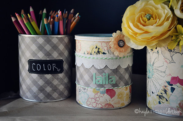 Decorate Cans