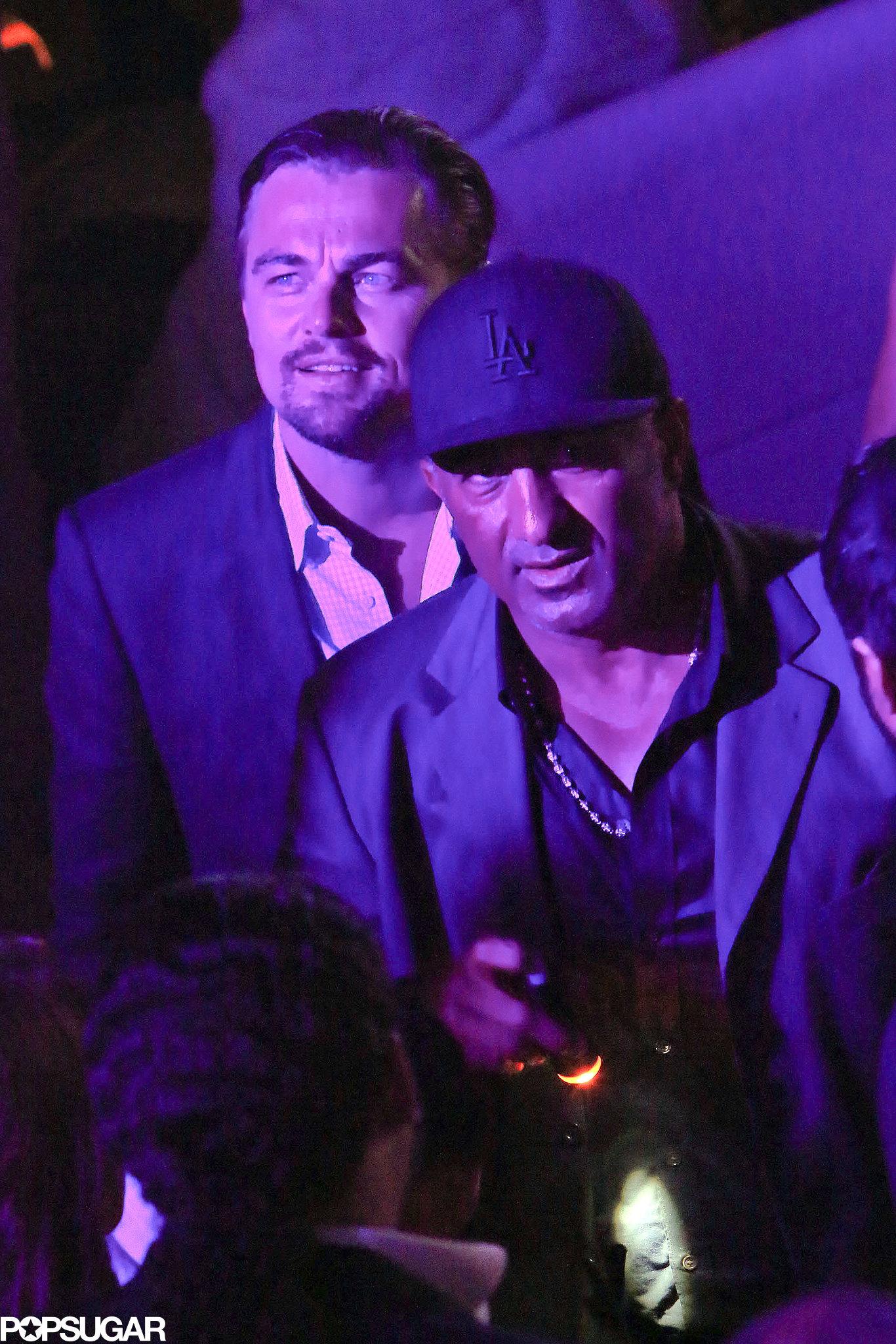 Leonardo Dicaprio Partied At The Eden Roc Hotel For The De