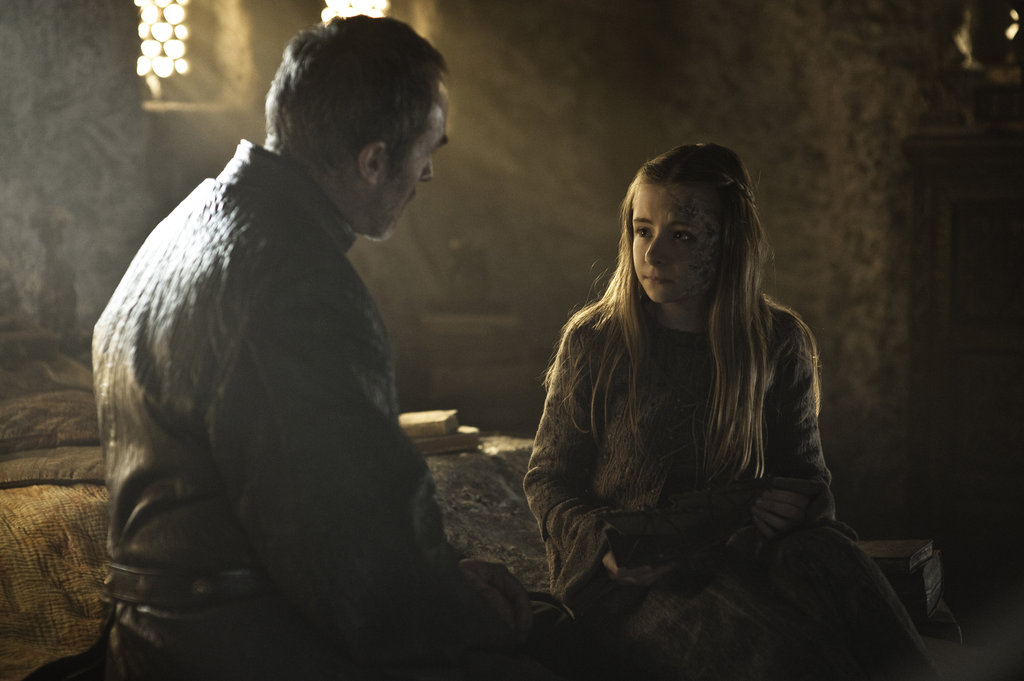 Stannis Sees His Loony Wife