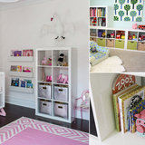 7 Ways to Put the Ikea Expedit To Work In Your Kids' Room
