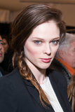 At the Diane von Furstenberg show for Fall 2013 Fashion Week, model Coco Rocha showed off a pretty, casual plait.