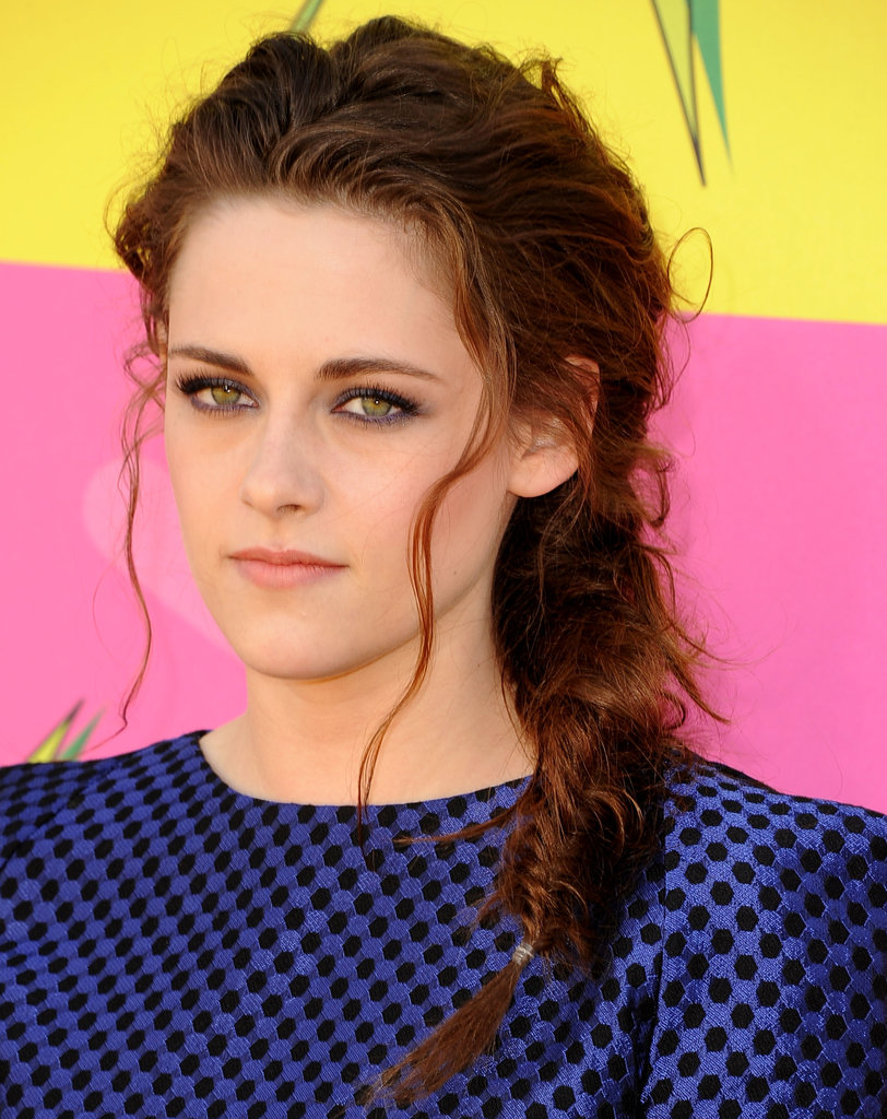 Fun and flirty, Kristen Stewart's fishtail braid was seriously sexy at the Kids' Choice Awards.