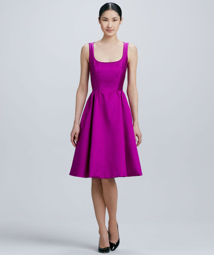 Kate Spade New York Landry Sleeveless Full-Skirt Dress