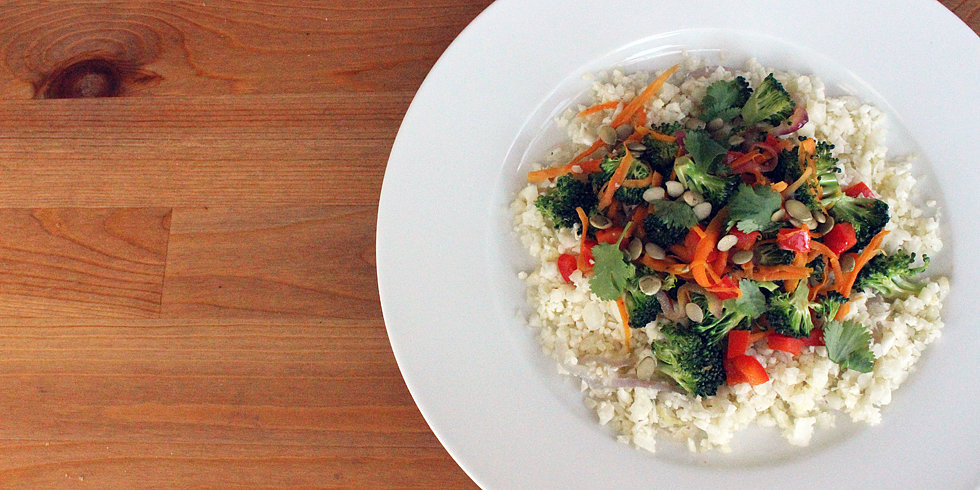 "Paleo Perfect: Cauliflower ""Rice"" Stir-Fry"