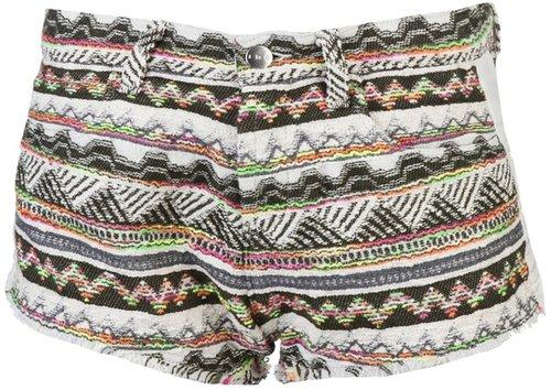 Iro Tribal woven shorts