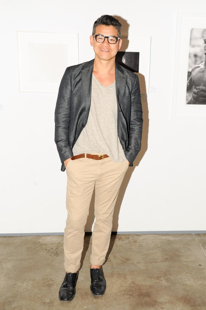 Peter Som at a party for ACRIA in New York. Source: Neil Rasmus/BFAnyc.com