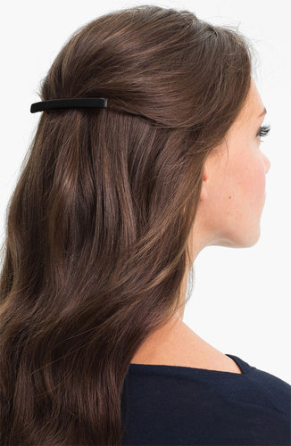 L. Erickson 'Long & Skinny' Covered Barrette