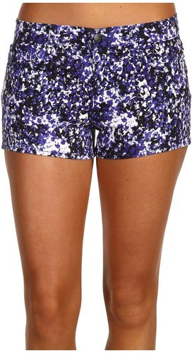 Joe's Jeans - Splatter Short in Electric Blue (Electric Blue) - Apparel