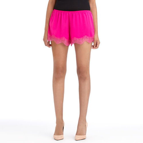 Lace Trimmed Shorts