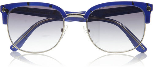 Marc by Marc Jacobs D-frame metal and acetate sunglasses