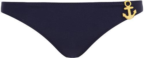 Navy anchor bikini pants