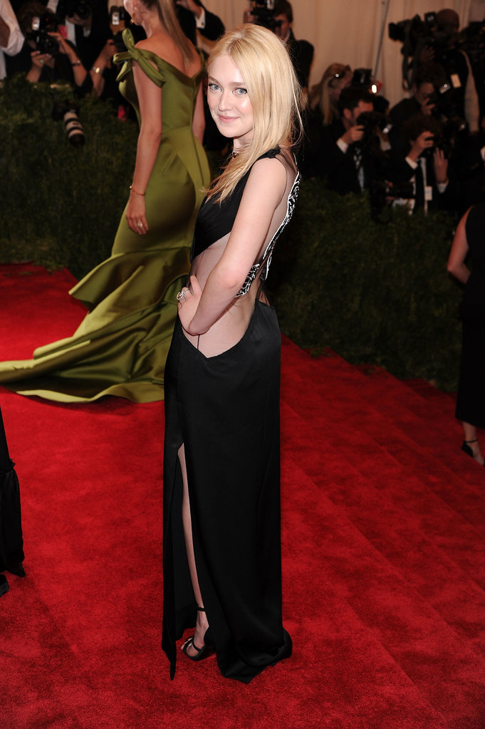 Dakota Fanning: Met Gala, May, 2013