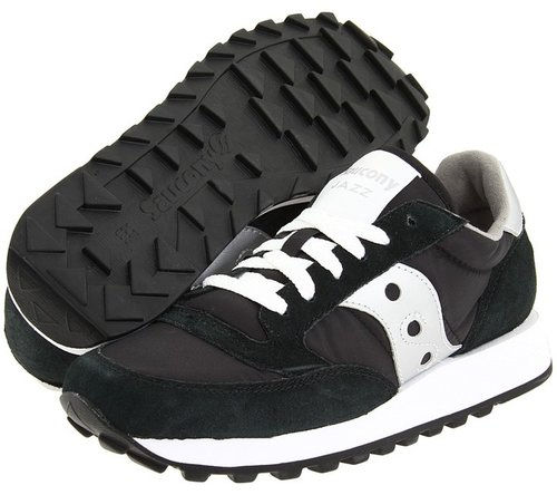 Saucony Originals - Jazz Original W (Black/Silver) - Footwear