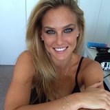Bar Refaeli was all glammed up for a photo shoot. Source: Instagram user barrefaeli