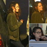 "Kristen Stewart Has a ""Relaxed"" Dinner With Friends and Visits Taylor Swift Postsplit"