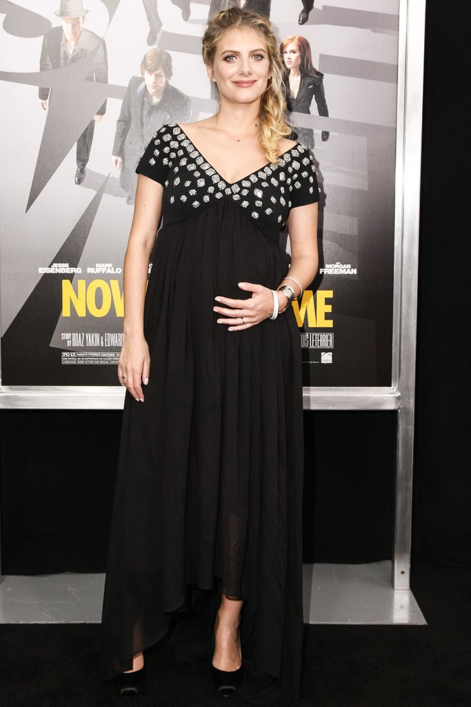 Mélanie Laurent wore a custom Maxime Simoens dress to the premiere of Now You See Me in New York. Source: Matteo Prandoni/BFAnyc.com