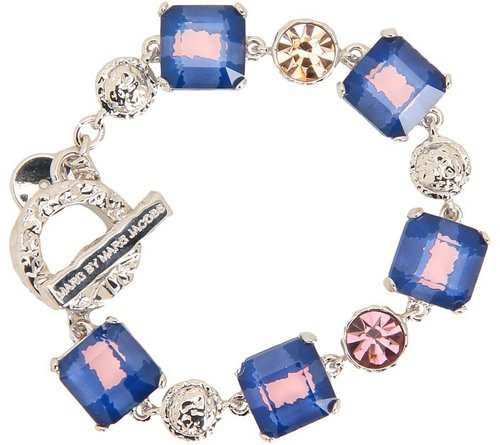Marc by Marc Jacobs - Tiny Toggle Bracelet (Apricot Rose Multi (Argento)) - Jewelry