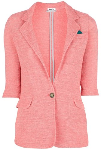 Bark single button blazer