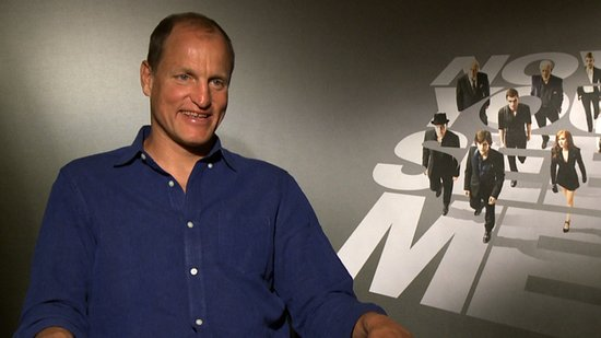Woody Harrelson Talks Hypnotism in Now You See Me and Excitement Around Catching Fire