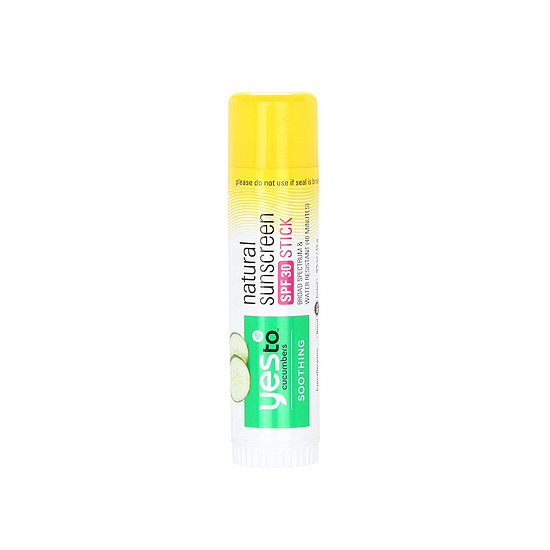 Perfect for stashing in your purse, Yes to Cucumbers Natural Sunscreen SPF 30 Stick ($9) is 96 percent natural and perfect for on-the-go touch-ups.
