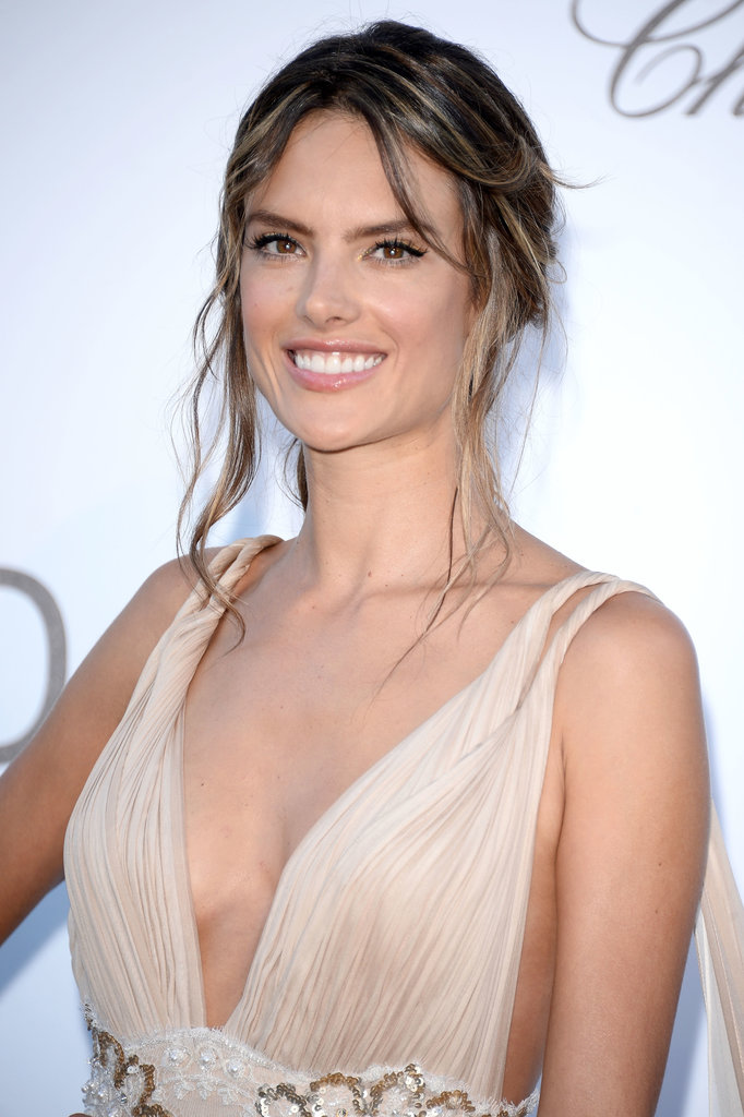 Alessandra Ambrosio S Whimsical Hairstyle Was Purposefully