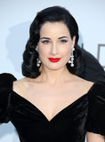 Really, what can you say about Dita Von Teese's look? She knows her best style and sticks to it!