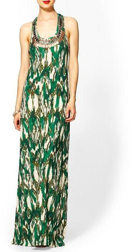 Sabine Ikat Maxi Knit Dress